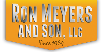 Ron Meyers and Son Excavating Septic Systems Logo